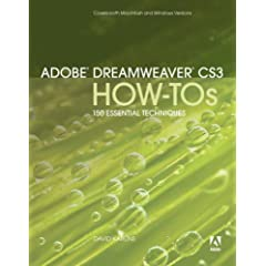 Book Cover: [request_ebook] Adobe Dreamweaver CS3 How-Tos: 100 Essential Techniques