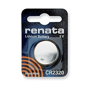 Single Type CR2320 Renata Swiss Lithium Battery