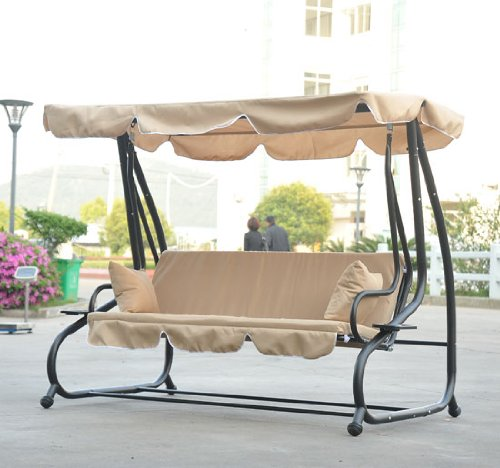 Best Patio Swing With Canopy Reviews 2019 - Cover