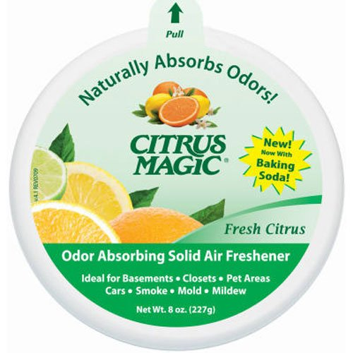 Citrus Magic Solid Air Freshener, Fresh Citrus, 8-Ounce (Yellow Air Freshener compare prices)