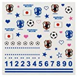 FLAGS TOWN 日本代表 2014 ネイルシール 11-06187