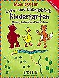 Mein bunter Lern- und Übungsblock Kindergarten - Malen