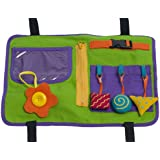 Star Kids Play 'N Go Travel Tray, Green