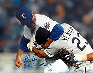 Nolan Ryan Autographed 16x20 Photo Texas Rangers Don