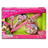 Disney Minnie Mouse Bow-tique Music Boxed Set w/Flute Maracas & Tamborine ages 3 and up