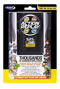 Action Replay for Nintendo 3DS, DSI, DS Lite and DS - DSi Yellow from Datel