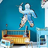 人の形エーゲ海  ウォールステッカー wall sticker ウォールペーパー 壁紙 ウォールシール 70*100cm