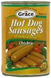 Grace Chicken Hot Dogs 400 g (Pack of 12)