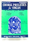 img - for Everybody's Favorite Series No.65 Choral Preludes for Organ Includes Hammond Registration..63 Original book / textbook / text book