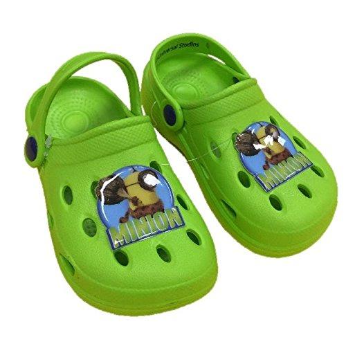 Ciabatte Bambino tipo crocs Minion Pantofole Estive Bimbo *23821 - Verde 22/23