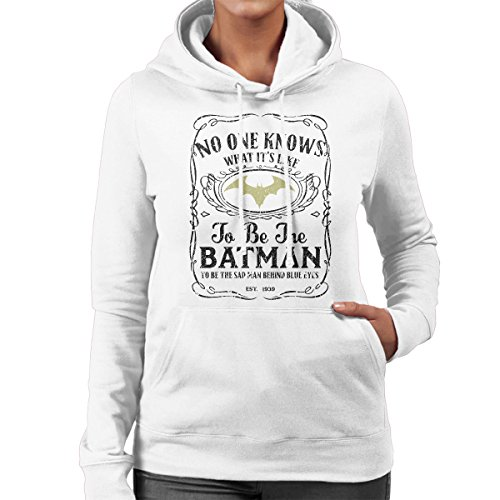 No One Knows What Its Like to Be The Batman Whisky Mashup Women's Hooded Sweatshirt