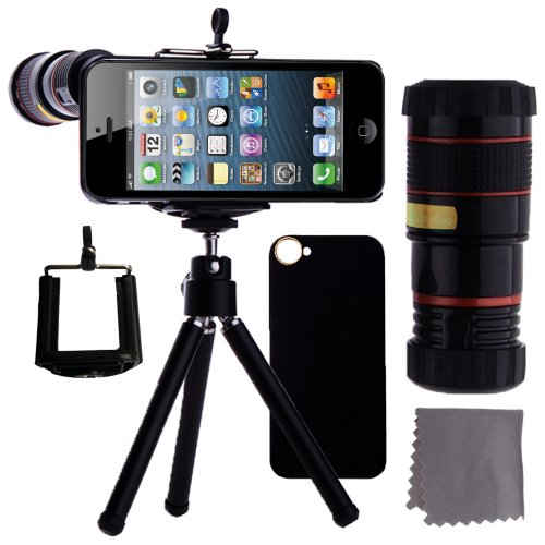 ECO-FUSED iPhone 5 Camera Lens Kit Includes /