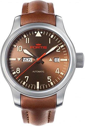Fortis B-42 Aeromaster Dawn 655.10.18.L08 Reloj Automático para hombres Legibilidad Excelente