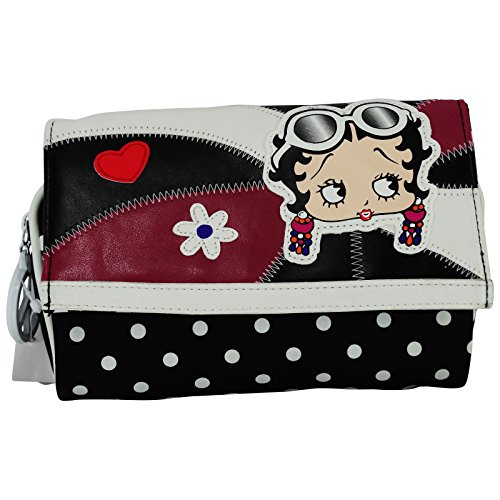 Betty Boop Astuccio Trucco Beauty Case Make Up Pochette