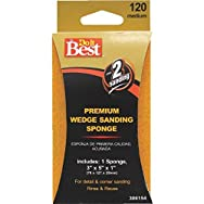 Ali Ind. 306154 Do it Best Wedge Sanding Sponge-120 WEDGE SANDING SPONGE