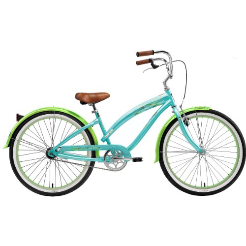 Nirve Wispy 26in Ladies Coral Teal 1-Speed Cruiser