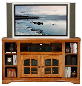 "Oak Ridge 55"" TV Stand Finish: Medium Oak"