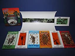 EDIBLE INSECTS ULTIMATE SAMPLER PACK of 2- Crickets 2- Larvets 1- Chocolate Covered Insects 1- Ant Candy 1- Amber Scorpion 1- Amber Insects in custom decorative box