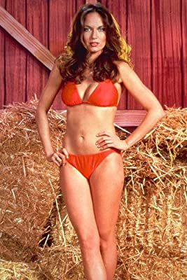 Catherine Bach Dukes Of Hazzard Red Bikini 24x36 Poster