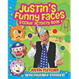 Justin's Funny Faces Sticker Activity Bookby Justin Fletcher
