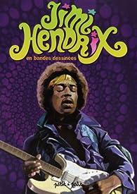 Jimi Hendrix en bandes dessin�es par  Oliv'