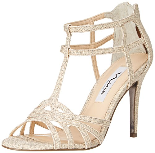 Nina Women's City-GM Dress Sandal, Champagne, 10