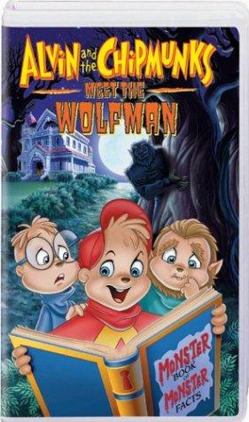 Alvin & the Chipmunks - Meet the Wolfman [VHS]