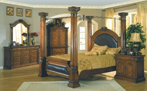 Montecito Collection King Size Bed Bedroom Set