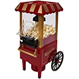 Retro Carnival  Fun Fair Style Electric Hot Air Popcorn Maker Machine Popper 1930's Style