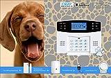 Eray Tierimmuner Funk-Alarmanlagen-System inklusive umfangreichem Zubehör, M2B-T4-N