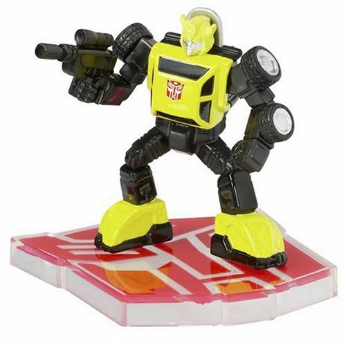 Titanium Series Transformers 3 Inch Metal Robot Masters Bumble-Bee