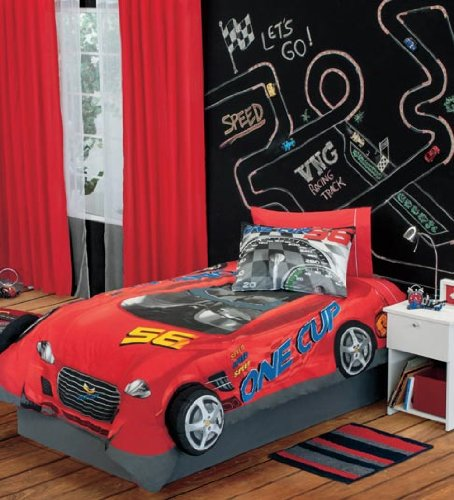 Boys Bedding Cars front-146306