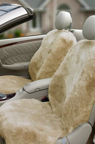 Sheepskin Carseat Covers front-887971