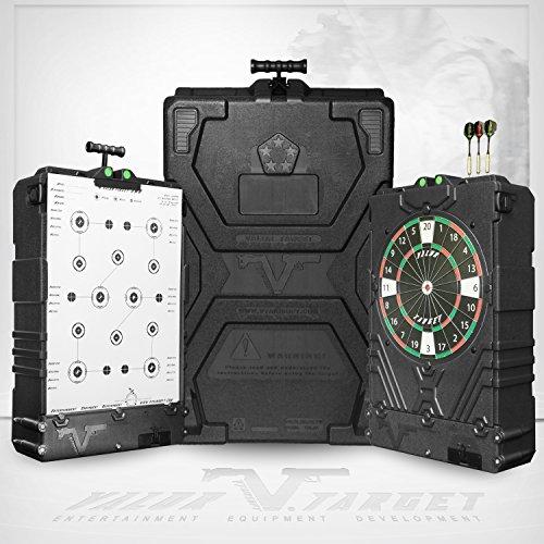 5.5 - inch, vert Champion DuraSeal Single Radiation Varmint Spinner Target