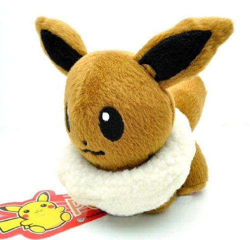 Pokemon Eevee Plush Doll 5″ (Around 12cm) image