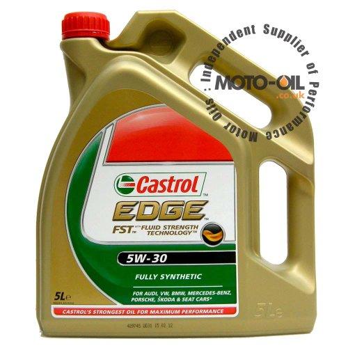 Castrol EDGE 5L 5W-30 C3 DPF Engine Oil - Replaces Standard Castrol Edge 5w-30