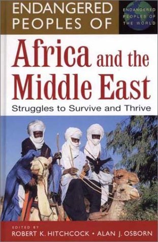 Image for Endangered Peoples of Africa and the Middle East: Struggles to Survive and Thrive