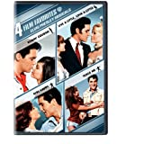 4 Film Favorites: Elvis Presley Musicals (Girl Happy / Kissin' Cousins / Live a Little, Love a Little / Tickle... by WARNER STUDIOS