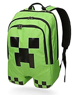 ThinkGeek Officially Licensed Minecraft Creeper Backpack by Minecraft