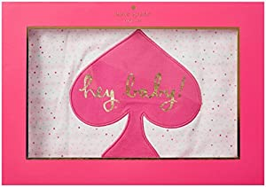 kate spade york Baby Girls Hey Baby Reversible Blanket, Multi Stripe, One Size from Global Brands Group - Quidsi