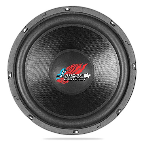 Lanzar Dctoa124 Distinct Open Air Svc Distinct Series 12-Inch High Power Ib Open Free-Air 4 Ohm Subwoofer Svc, Set Of 1
