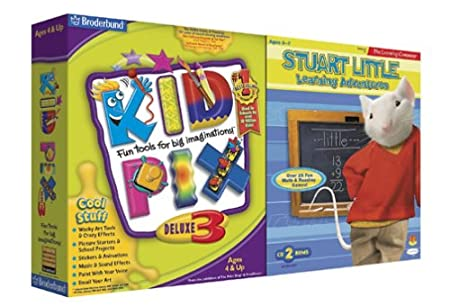 KidPix Deluxe 3 and Stuart Little Learning Adventures