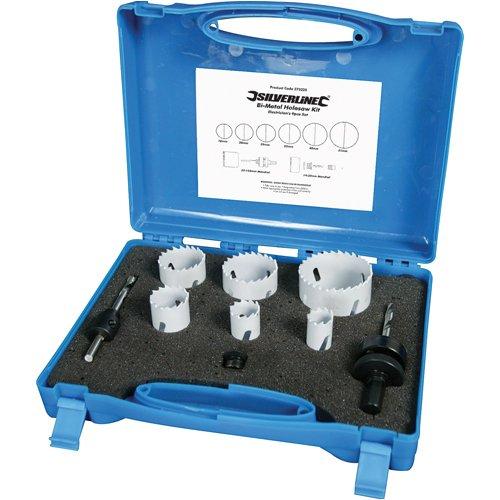 silverline-273220-juego-de-coronas-bimetal-para-electricistas-9-pzas-18-51-mm