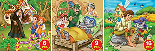 D-Toys Fairy Tales - Series 1 Jigsaw Puzzle, Variable Piece Count