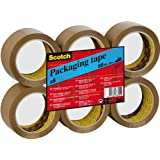 Scotch Brown C5066F6 packaging tape, 6 rolls