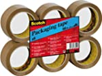 Scotch Brown C5066F6 packaging tape,...