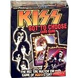 Kiss Card Game - Got To Choose
