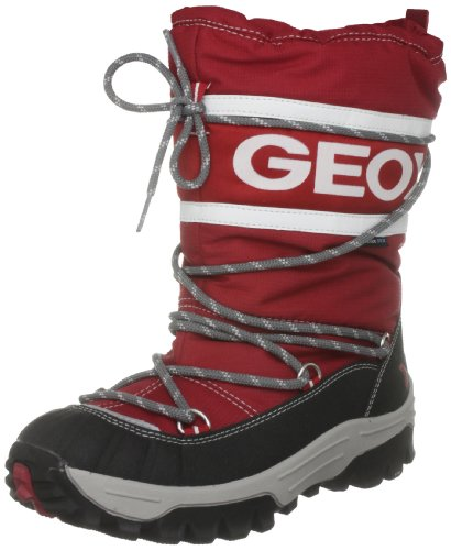 Geox Junior J Himalaya Wpf X Red/White Waterproof Boot J13B5X0Fu50C0003 1.5 UK