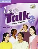 Let's Talk Level 3 Student's Book with Self-study Audio CD (Let's Talk (Cambridge)) (0521692873) by Jones, Leo