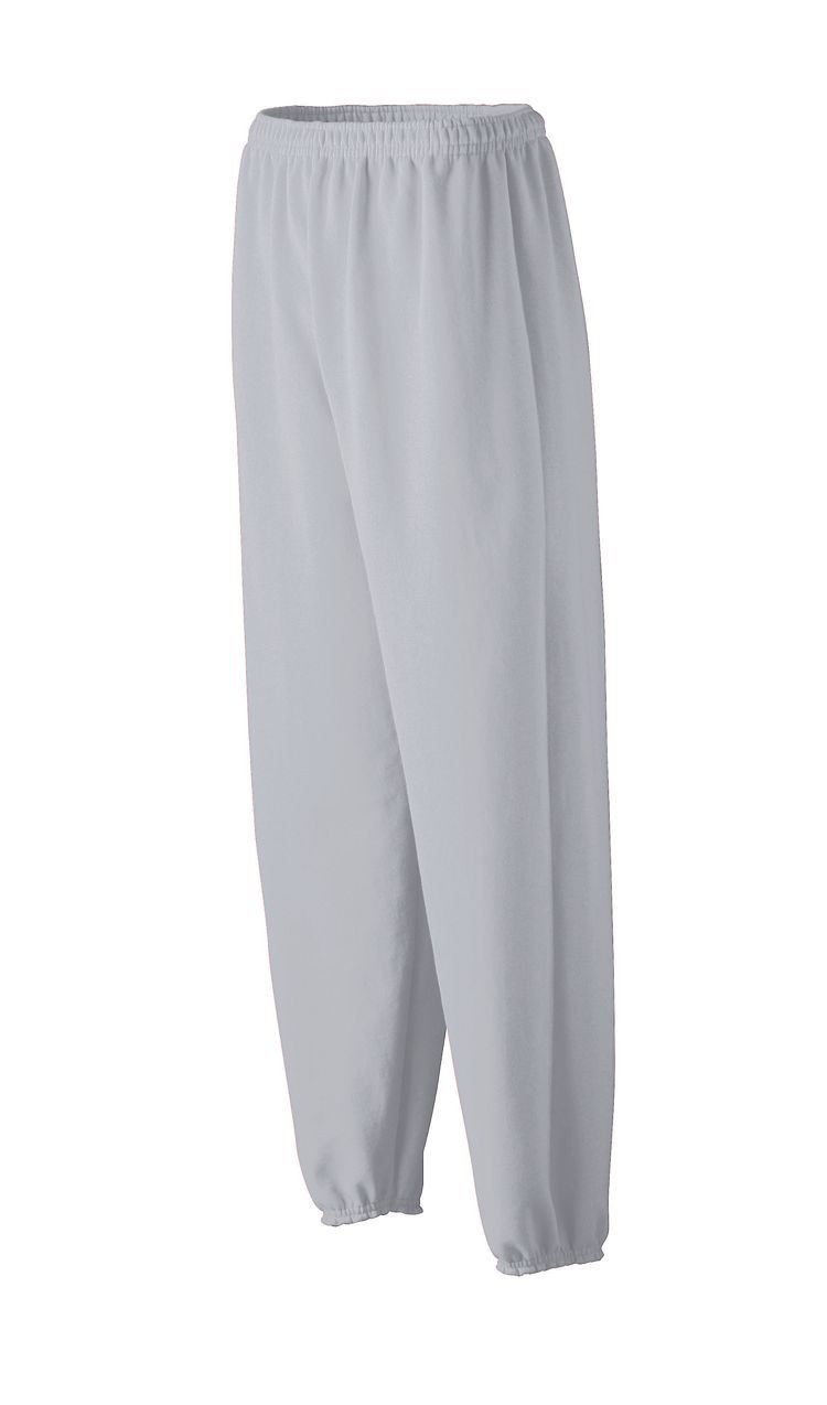 Augusta-Youth Medium Weight Sweatpant~Ash~Youth-XS youth baseball jersey color white maroon size medium